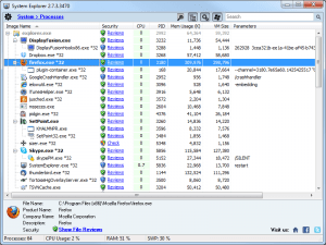 Screenshot - System Explorer
