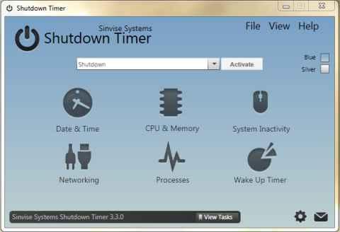 Screenshot Shutdown Timer