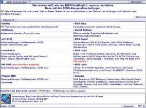 BIOS-Einstellungen verstehen mit dem BIOS-Kompendium