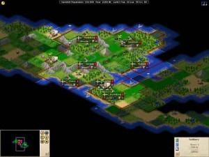 Freeciv - Rundenbasiertes Multiplayer Strategiespiel
