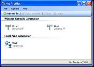 Netprofiles - Netzwerkeinstellungen per Klick ändern