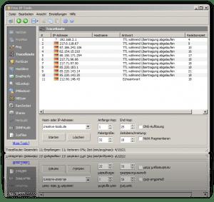 Netzwerk analysieren mit Free IP Tools