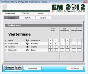 Screenshot SmartTools EM-Tipp 2012