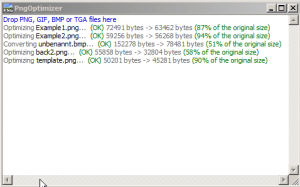 Screenshot PNG Optimizer