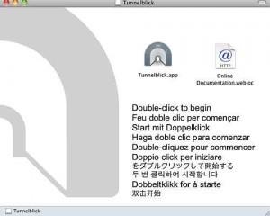 Screenshot Tunnelblick Installation