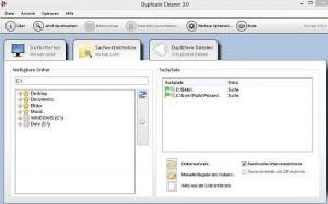 Screenshot Duplicate Cleaner - Ordnerwahl