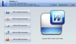 Screenshot PDFZilla