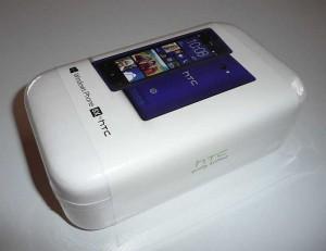Screenshot Verpackung HTC 8X