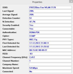WLAN-Signalstärke messen