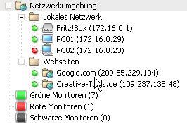 Netzwerkverbindungen überwachen