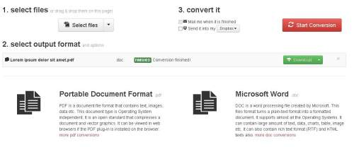 Dateien konvertieren mit CloudConvert