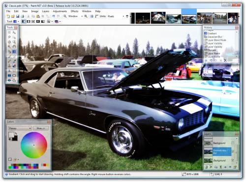 Bildbearbeitung mit Paint.NET