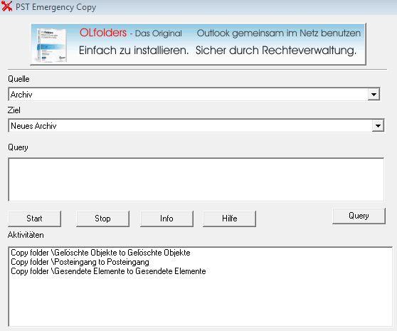 PST Dateien retten