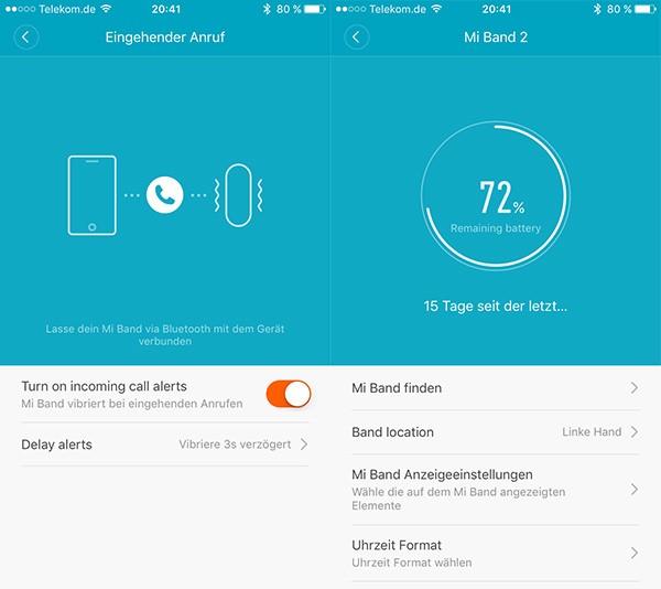 MiFit Xiaomi MiBand 2
