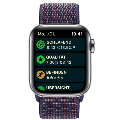 Apple Watch Schlaf aufzeichnen