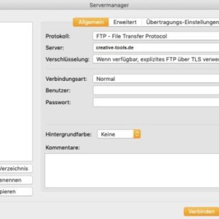 FTP Client auf Mac OS