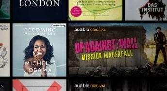 Hörbücher mit Audible hören